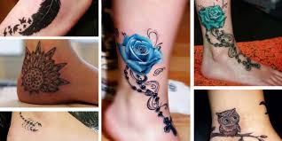 15 sensational ankle tattoos not only for inkdoneright