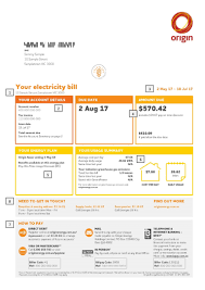 how to read my bill origin energy