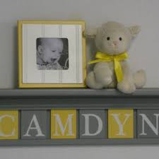Baby Name Decor For Nursery Block Letter Baby Name Products On Wanelo