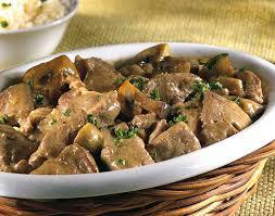 comment cuisiner du foie de boeuf foie de veau aux chignons colruyt