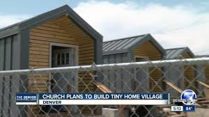 church plans to build tiny home village youtube