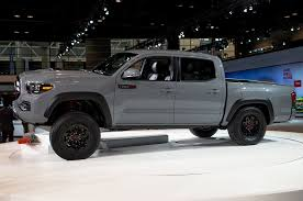 Best Colors 2017 2017 Toyota Tacoma Trd Pro First Look Review
