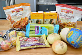 Pepperidge Farm Dressing Recipes Thanksgiving Cornbread Stuffing Recipe With Apples And Pecans Mom 4 Real