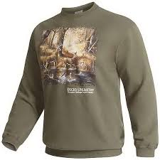 customer reviews of wildlife graphic sweatshirt for men