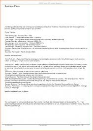 example simple business plan business plan cmerge