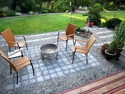 Rock Patio Designs Rock Patio Ideas Flagstone With Flagstone With Pea Gravel