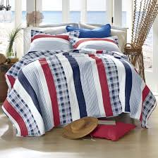 red white navy blue striped boys bedding twin full queen king