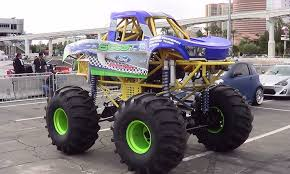kids monster truck video mini monster truck sema 2013 youtube