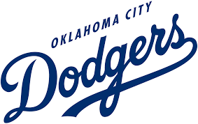 oklahoma city dodgers 2015 pres wordmark logo diy decals stickers