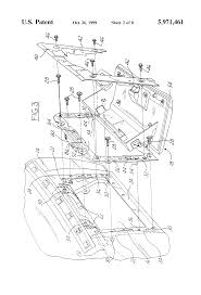 patent us5971461 automotive vehicle instrument panel assembly