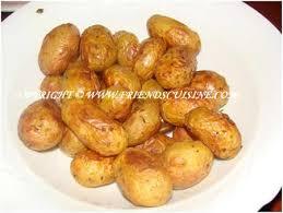 cuisiner les pommes de terre de noirmoutier recette pommes de terre ratte au four
