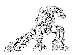Transformer Coloring Pages Megatron Coloringstar Transformer Color Page