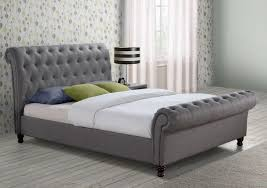 Grey Bed Frame Birlea Grey Bed Frame Idealsdirect