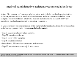 Samples Of Medical Assistant Resumes by Hospital Administrative Assistant Cover Letter