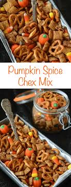 pumpkin spice chex mix the novice chef
