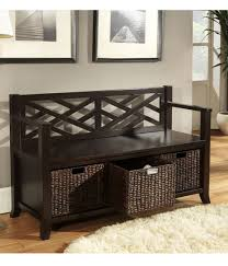 Entry Storage Bench With Coat Rack Mudroom Shoe Ottoman Bench Window Bench With Storage Entry Hall
