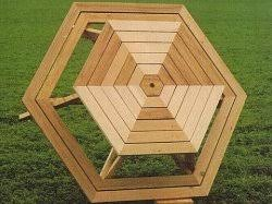 diy how to build a octagon picnic table plans wooden pdf step