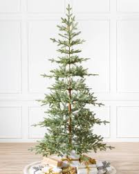 artificial christmas tree narrow artificial christmas trees balsam hill