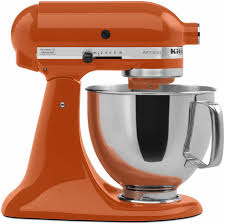 Home Kitchen Aid by Kitchen Aid Persimmon Ksm150pspn Orange Kitchenaid Mixer