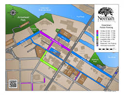 Image Gallery Lincoln Park Map by City Of Neenah Downtown Parking