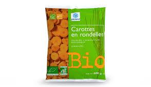 cuisiner des carottes en rondelles carottes en rondelles bio surgelés les légumes picard
