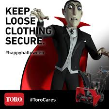 memes halloween toro snowblower safety