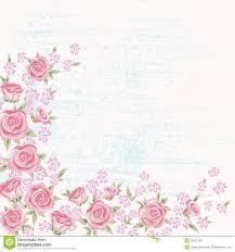 Simple Invitation Card Rose Background 5 Royalty Free Stock Photo Image 32877095