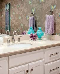 wallpaper designs for bathrooms 279 best wallpapered bathroom images on bathroom ideas