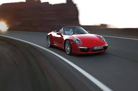 red porsche convertible new porsche 911 carrera cabriolet
