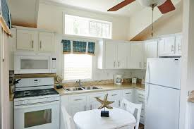 Cottage Kitchen by Beach Cottages In Cape Charles Virginia Sunset Beach Resort