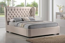 finley grey linen bed free shipping today overstock com 16052631