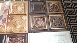ceiling miniature samples faux tin ceiling tiles with cool design