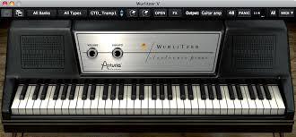 si e piano arturia wurlitzer v