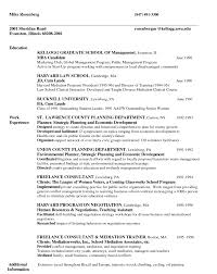 Sample Resume Objectives For Volunteer by Harvard Business Resume Format Business Tracking Templates