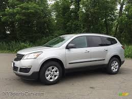 chevrolet traverse ls 2017 chevrolet traverse ls awd in silver ice metallic 353654