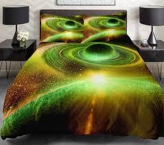 Galaxy Bed Set Grey And Yellow Galaxy Bedding Set Yellow Galaxy Duvet Cover Set