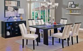 led dining room lighting led light dining table set