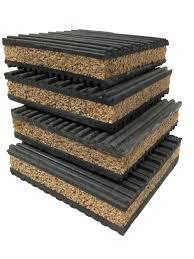 Anti Vibration Table by Pneumaticplus Anti Vibration Rubber U0026 Cork Isolation Pads Pack Of