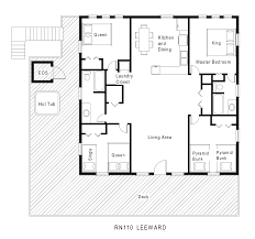 Beach Homes Plans Apartments Cool Shaped Apartment Floor Plan House Plans Patio