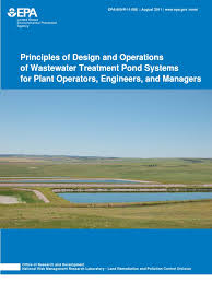 principles of design and operations of wastewater treatment pond