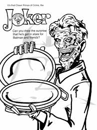 new 52 coloring corner u2013 the joker u0027s main course
