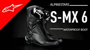 s waterproof boots s mx 6 waterproof boot i alpinestars