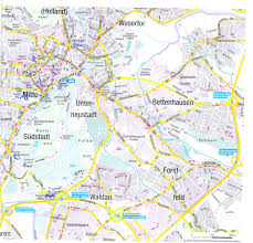 Erfurt Germany Map by Guide To Bach Tour Kassel Maps