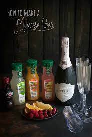 alcoholic drinks at a bar how to make a mimosa bar sweetphi