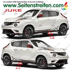 juke nismo juke nismo r checker look side stripes sticker decal complete set