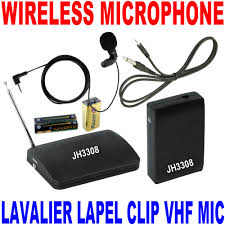 Radio Microphone Talk And Music About Wireless Lavalier Microphone System Ebay