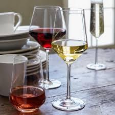 sur la table wine glasses schott zwiesel pure full bodied white wine glasses sur la table