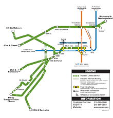 septa map septa route 10 11 13 15 34 36 trolley line map