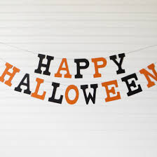 how to make a chic black and white halloween banner how tos diy