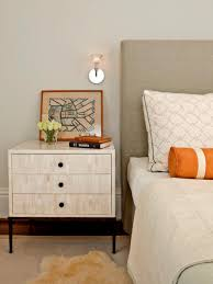 nightstand attractive decorate nightstand tips for